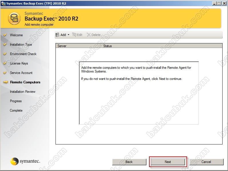 Backup exec 11d