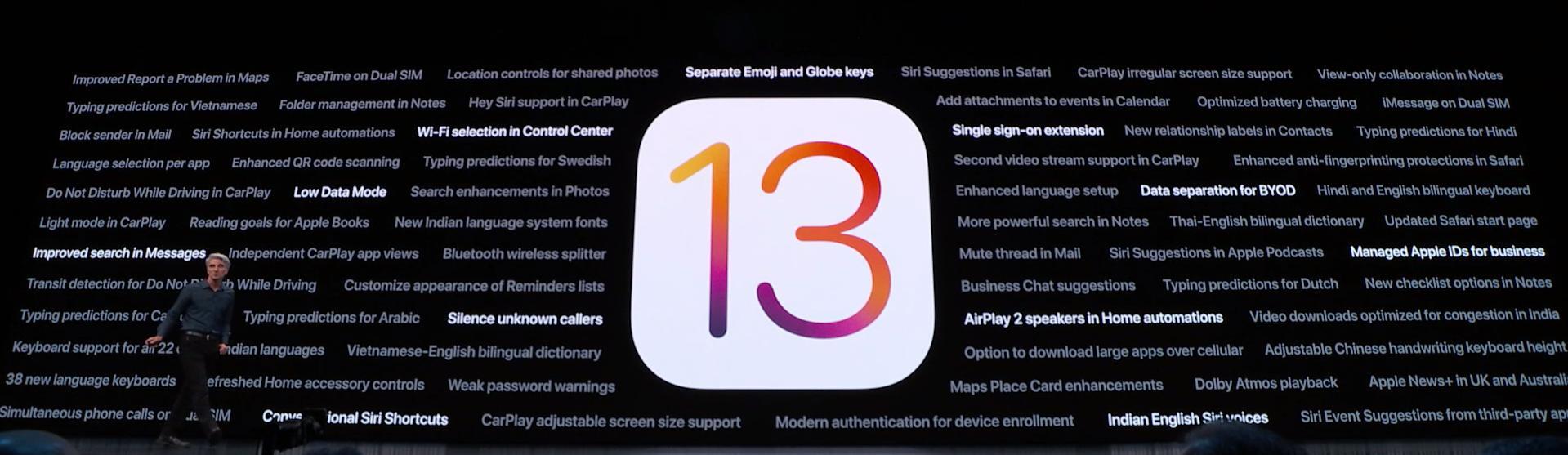 iOS 13 Yayınlandı!