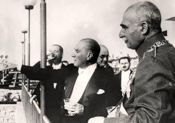 İran Şahı'nın ziyareti 17 Haziran 1934 Ankara